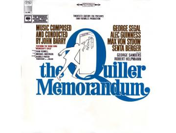 John Barry - The Quiller Memorandum (Original Sound Track Recording) (LP)