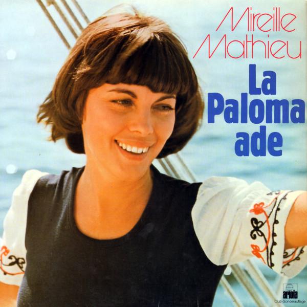 Mireille Mathieu - La Paloma, Adieu (LP)
