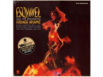 Esquivel And His Orchestra - Strings Aflame (LP)