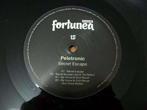 Peletronic - Secret Escape (12inch)
