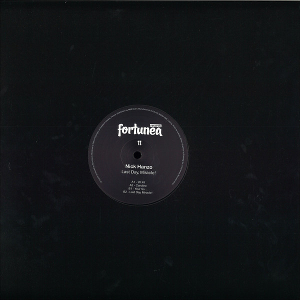 Nick Hanzo - Last Day, Miracle! (EP)