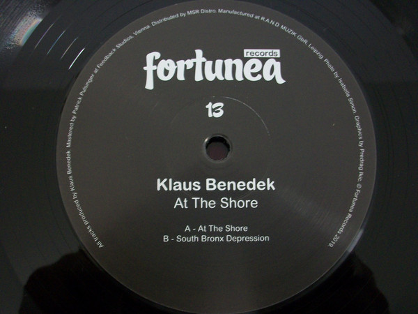 Klaus Benedek - At The Shore (EP)