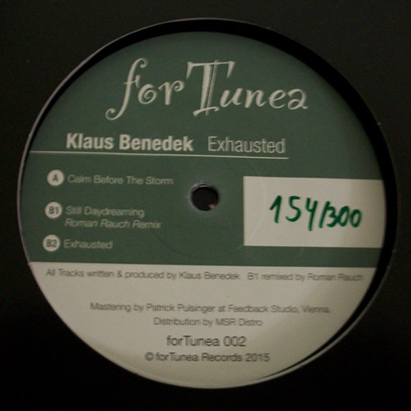 Klaus Benedek - Exhausted (EP)