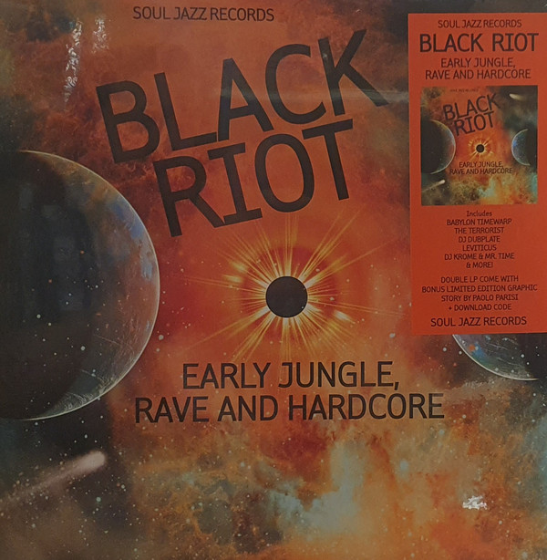 Various - Black Riot (Early Jungle, Rave And Hardcore) (2LP)