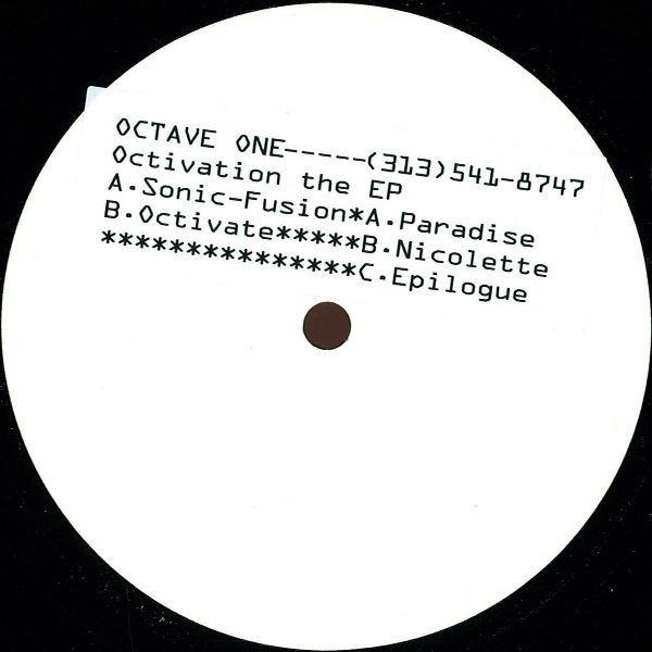 Octave One ‎– Octivation (EP)
