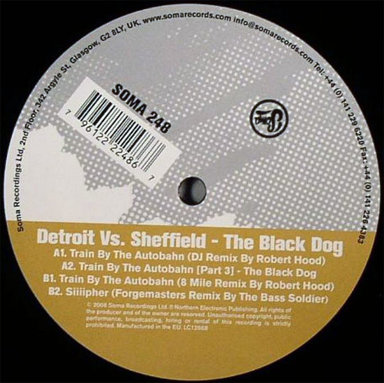 The Black Dog - Detroit Vs. Sheffield  (EP)