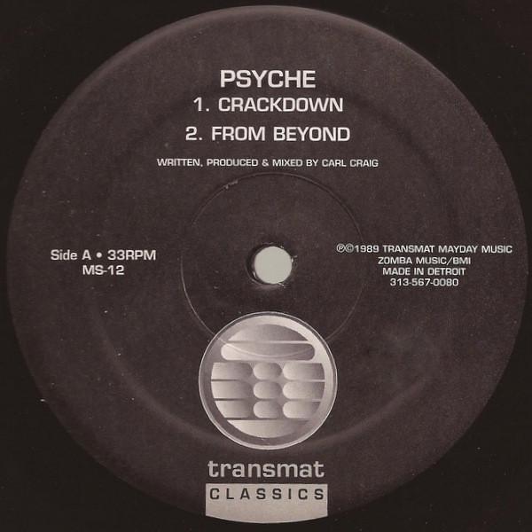 Psyche - Crackdown (EP)