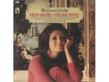 The Sunset Strings - Film Music Italian Style (LP)