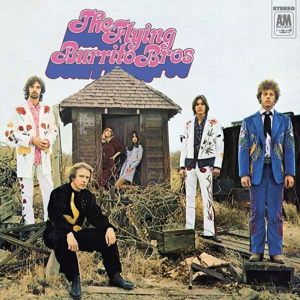 The Flying Burrito Bros - The Gilded Palace Of Sin (LP)