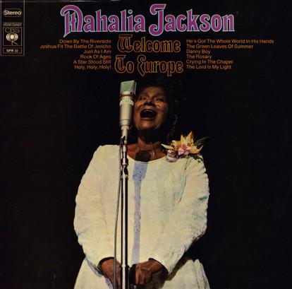 Mahalia Jackson - Welcome To Europe (LP)