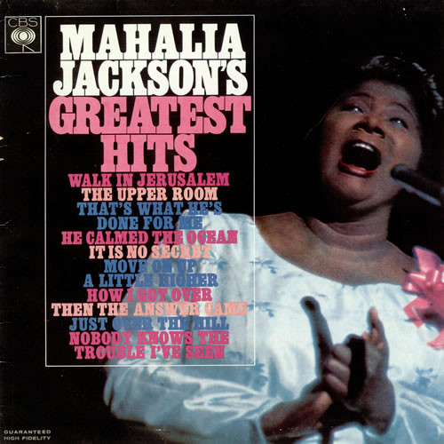 Mahalia Jackson - Mahalia Jacksons Greatest Hits (LP)