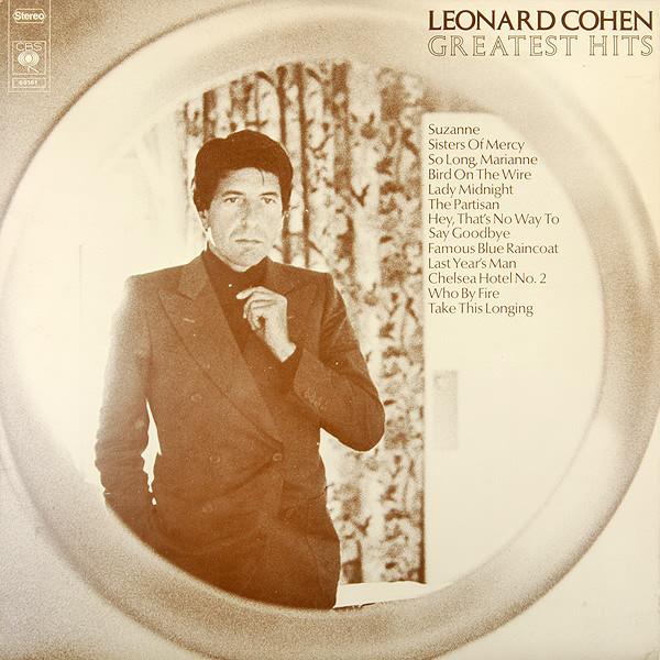 Leonard Cohen - Greatest Hits (LP)