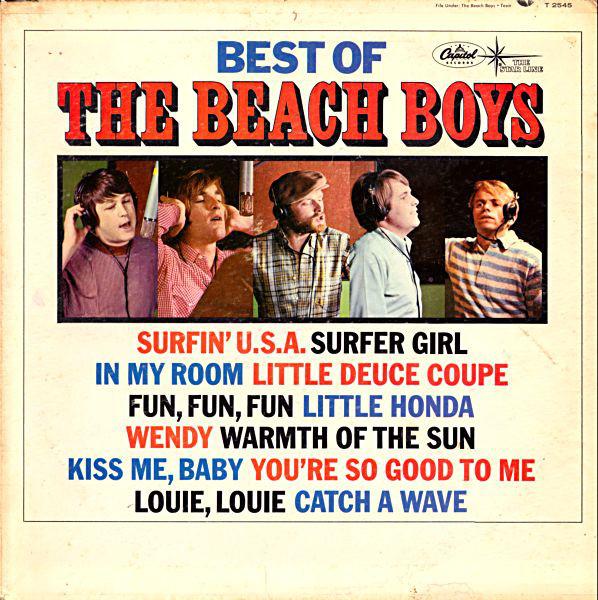 The Beach Boys - Best Of The Beach Boys Vol. 1 (LP)