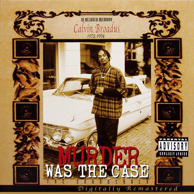 Various - Murder Was The Case (The Soundtrack) (2LP)