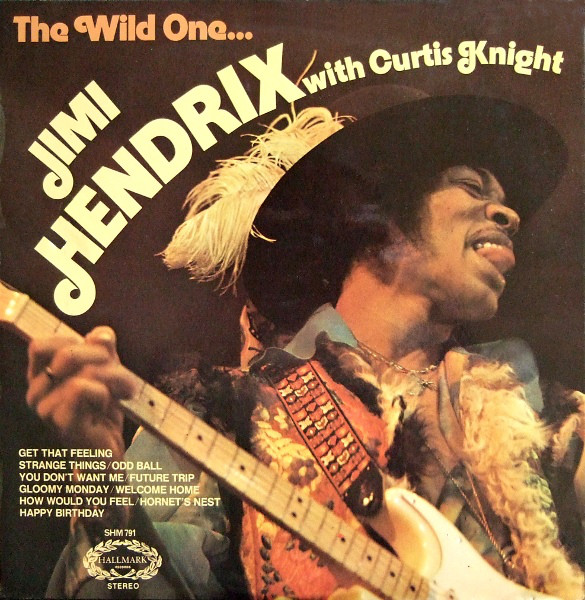 Jimi Hendrix With Curtis Knight - The Wild One.. (LP)
