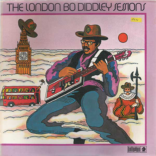 Bo Diddley - The London Bo Diddley Sessions (LP)
