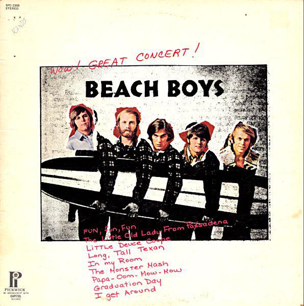 The Beach Boys - Wow! Great Concert! (LP)