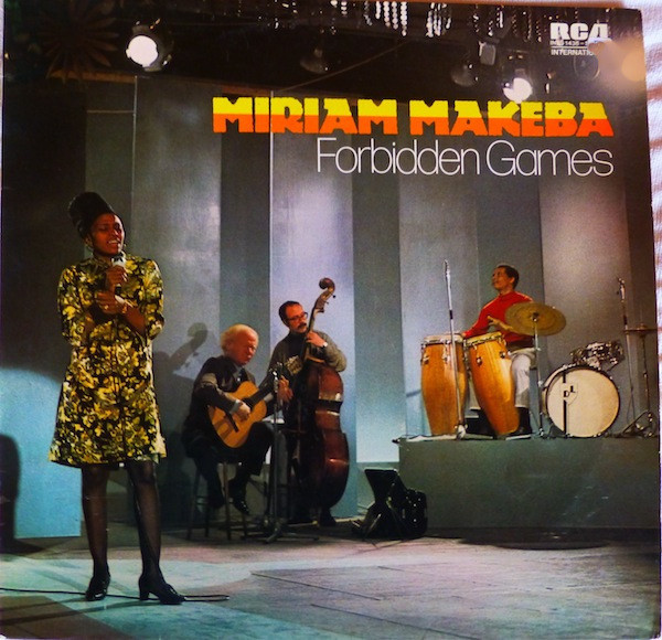Miriam Makeba - Forbidden Games (LP)