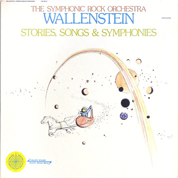The Symphonic Rock Orchestra Wallenstein .- Stories, Songs & Symphonies (LP)